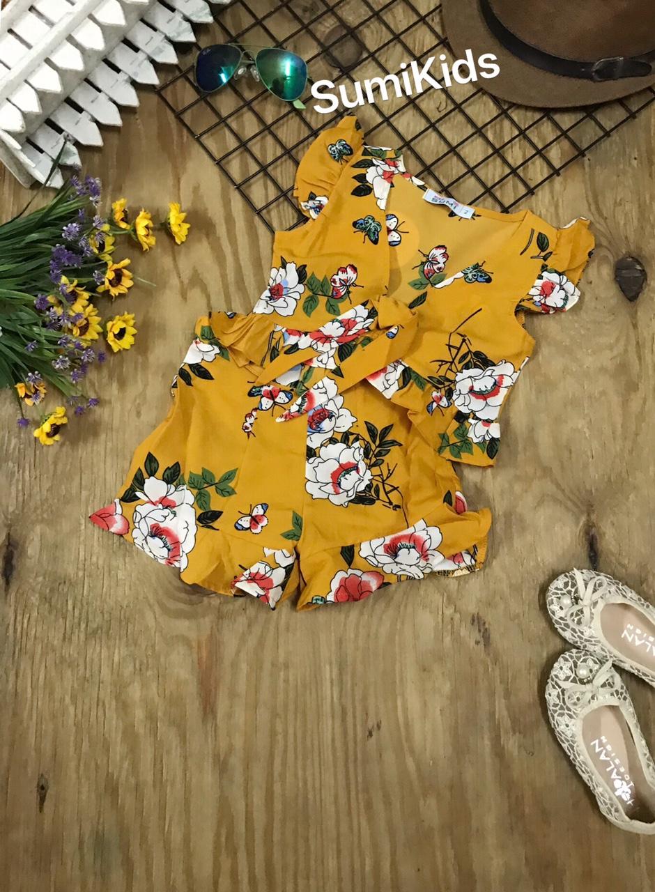 SG210201 Sét lụa bông áo tay cánh tiên, bèo lai nhún 1-8