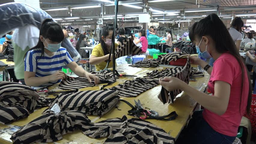 Xưởng may gia công quần áo trẻ em tại tphcm