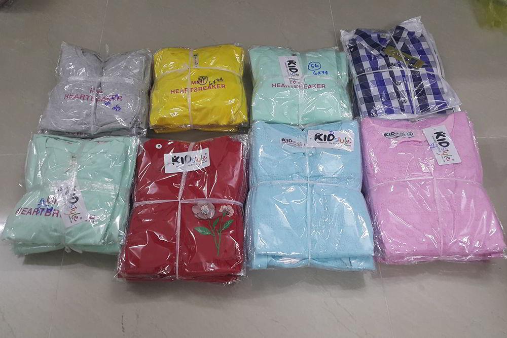 nguồn hàng quần áo trẻ em