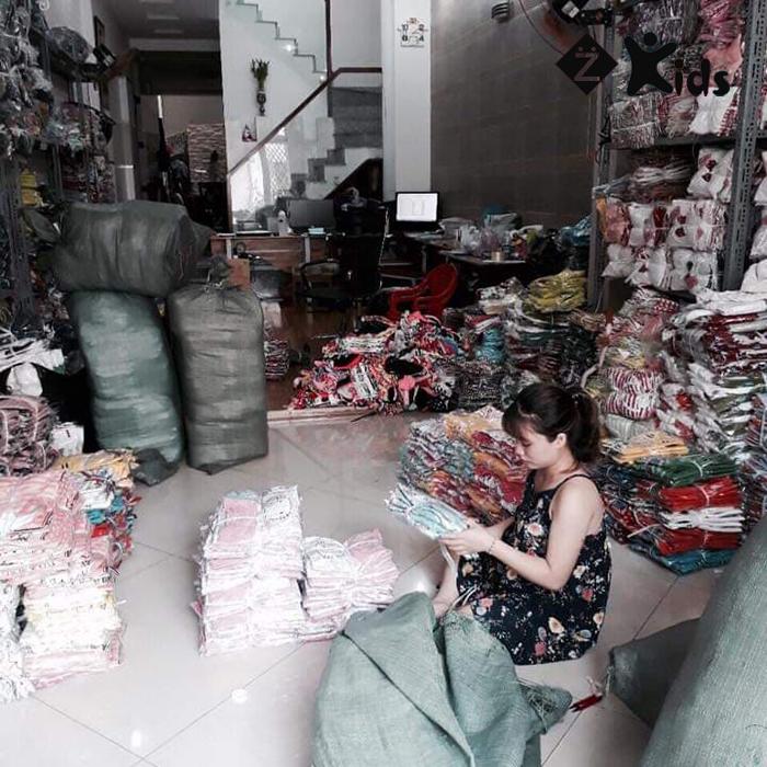 xưởng bỏ sỉ quần áo trẻ em