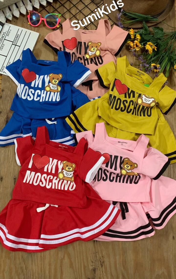 BG100701 - Set chân váy Moschino