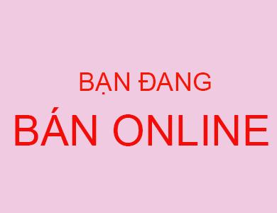 Bạn đang bán online
