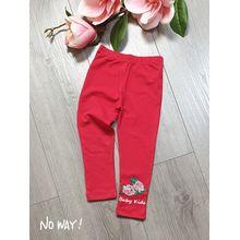 QG2180201-Quần ôm in hoa hồng