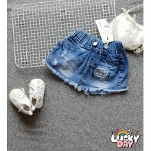 Quần váy jean bé gái 1-8SG8377