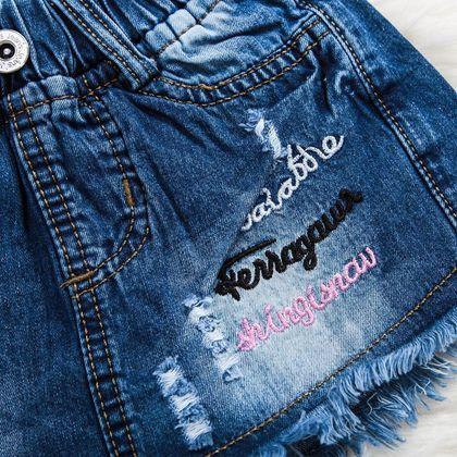 Quần váy jean bé gái 1-8 QG0085