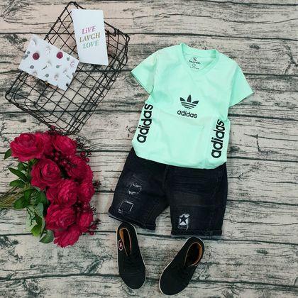 AT090302 - Áo thun bé trai Adidas