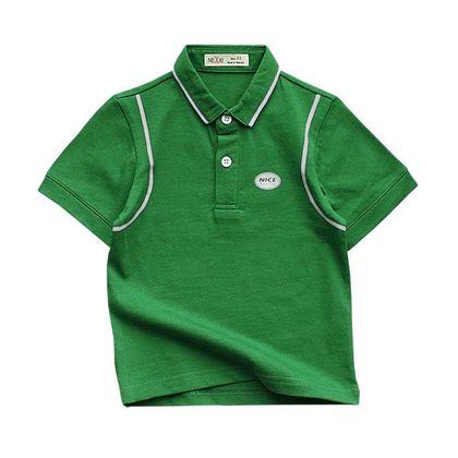 Ao thun co be cotton 2c in logo 1-8 AT22001