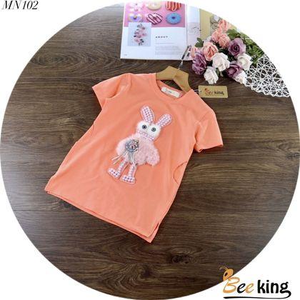 DG2110205-Đầm đắp thỏ hồng