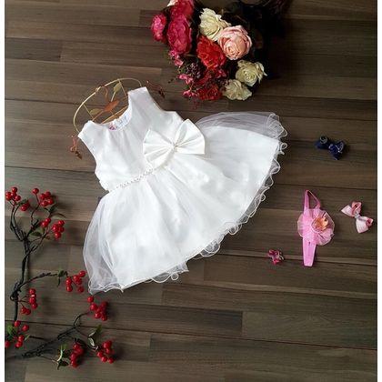 Đầm công chúa nơ eo, kết hạt SR146145