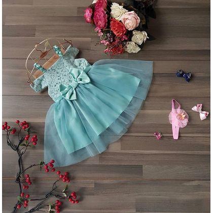 SG151150 Đầm công chúa bẹt vai nơ eo 1-8